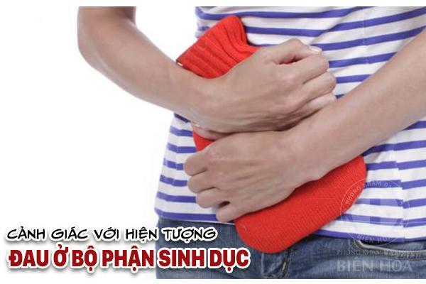Cần cảnh giác với hiện tượng đau ở bộ phận sinh dục